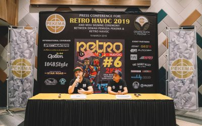SIDANG MEDIA RETRO HAVOC 2019